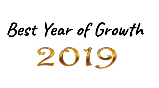 Best Year of Growth